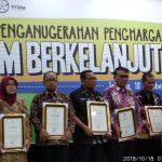 Kabupaten Wonogiri Meraih Penghargaan STBM Berkelanjutan Tingkat Nasional Tahun 2018